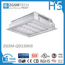 150W IP66 Surface Mounted Canopy Light for Gas Station Lighting