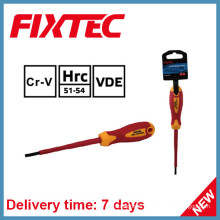 Fixtec Hand Tools 4mm 100mm Insulated Screwdriver with Insulation Handle
