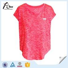 Moisture Wicking Womens Shirts Wholesale Fitness Wear