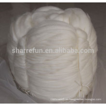 Fábrica al por mayor100% de la parte superior de la cachemira de Mongolia utilizada para el estambre hilado de cachemira
