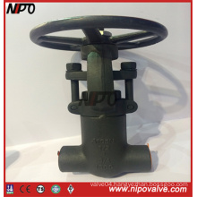 Forged Steel Pressure Seal NPT Thraed Gate Valve