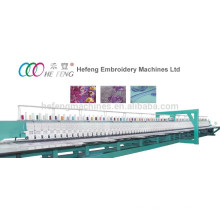 86 heads lace embroidery machine