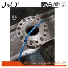 DIN Industrial Pnumatic Satinless Steel Pinch Valve