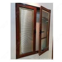 abrir janela interna / janela de abertura dupla / janela de inclinação na china