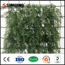 небольшое искусственное растение вертикальной изгороди, заборы