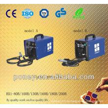 CE genehmigt Stahl Material tragbaren thermischen Schutz kleine Schweißmaschine mit vollem Zubehör