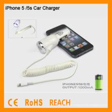 Carregador de carro de alta qualidade para carregador de carro iphone5 / 5s