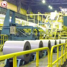 Telhas onduladas usadas PPGI PPGL bobinas pré galvanizadas com revestimento de PVC