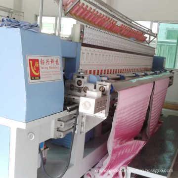 Computergesteuerte Stickerei und Steppmaschine zur Herstellung von Handtaschen, Schuhen, Kleidungsstücken