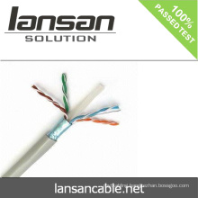 LANSAN 1000ft high speed 4 pair stp cat6 lan cable 100% Fluke pass UL ANATEL Approval