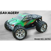 Juguete para niños de 14 años 1/8 Gas RC Car con control remoto