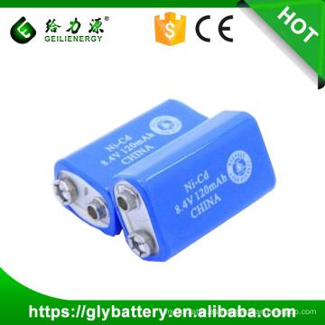 Batería de alta calidad de la batería recargable de 9 voltios para el juguete hecho en China
