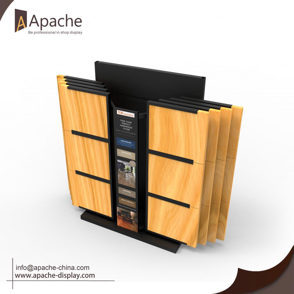 Heavy Bearing Board Display Stand With Hinges