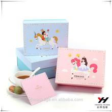 Caja de regalo cosmética reciclada de alta calidad del paquete de la cartulina