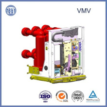 Стандарт ISO 9001 17.5 кв-630А высоковольтного ВМВ выключатели на подстанции