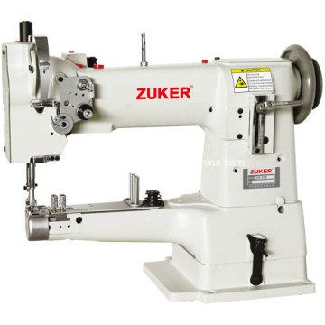 Máquina de costura do cilindro Zuker cama Compuound Feed (ZK335A)