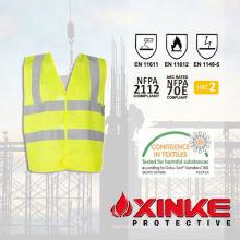100% хлопок огнезащитных зимние рабочие куртки для использования в промышленности