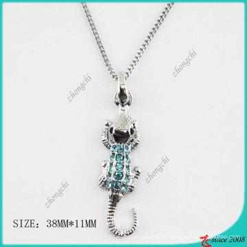 Fashion Crocodile Crystal Necklace (PN)