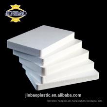 Jinbao 5mm 8mm dicke kunststoff schaum forex pvc boards harten pvc blatt