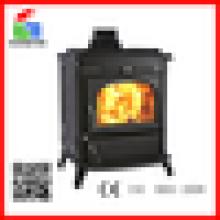 WM704A Beliebte Gusseisen freistehende Holz Brennen Kamin