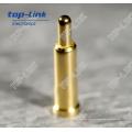 Нестандартная латунная пружинная контактная шпилька диаметром 0,9 мм