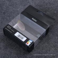 Caja de embalaje plástica de la fuente de la fábrica de China para la bombilla del LED (caja de regalo impresa)