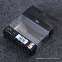 China caixa de embalagem de plástico de fornecimento de fábrica para lâmpada LED (caixa de presente impressa)