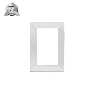 Profilé d'extrusion en aluminium 6063 t5 mat et poli pour cadre de miroir