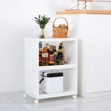 Two layers kitchen rack