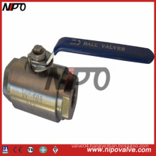 2-PCS Forged Steel Floating Ball Valve