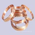 Plata bronce revestido de tiras metálicas