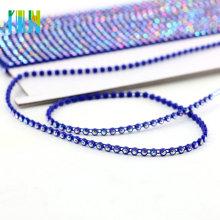 GBA001 Bander par le ruban de strass de rouleau de yard