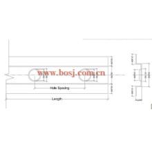 HVAC System Luftkanal Motorisierte Brandschutz Dämpfer Rollenformung Produktionsmaschine Indonesien