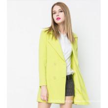 2016 New Arrival Europe Style Winter Woolen Women′s Coat
