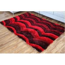 New Style 3D Modern Design Shaggy Teppich für Textil