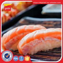 Saumon congelé de poisson saumon congelé glacé