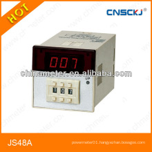 JS48A Digital display time relay 48*48mm count relay