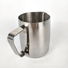 12 ounce stainless steel pouring jug espresso milk frothing cup