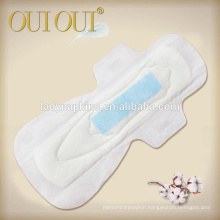 Hot sale ultra soft breathable anion strip maxi regular sanitary pads for women