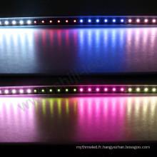 DC24V Longueur Personnalisée 48LEDs / m Barre Lumineuse Professionnelle LED Usage Extérieur DMX