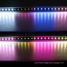 DMX512 smd5050 rgb nightclub ceiling wall decoration led linear lighting bar