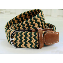 Fashion man's elastic braided belt