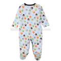 Soem-Service-Spielanzugbabykleidung kundengebundener langärmeliger neugeborener Winterbabyspielanzug onesie für Baby