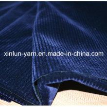 Polyester Spritzende Dekoration Beflockung Gestrickte Stoff für Sofa