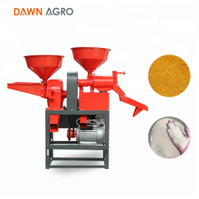DAWN AGRO Mini Industrial Combined Rice Flour Milling Machine
