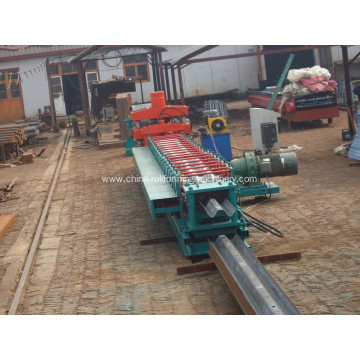 Customized for Guardrail Roll Forming Machine Fully Automatic 310 Highway Guardrail Galvanized Sheet Roll Forming Machine supply to Algeria Manufacturer