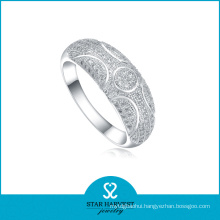 Elegant AAA 925 Sterling Silver Ring with Cheap Price (R-0025)