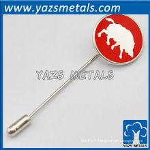 Goupilles en métal personnalisées