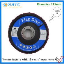 disco no tejido abrasivo de la aleta del paño del bajo precio para pulir