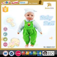 Productos más vendidos 2015 relleno juguete 16 pulgadas niño muñeca real